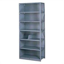 Q Line Closed 7 Shelf Shelving Unit Starter (Set of 87)