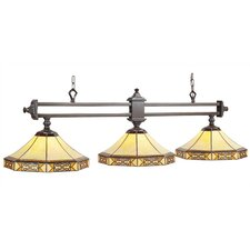 3 Light Mission Billiards Light