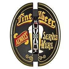 Fine Beer Dartboard Cabinet