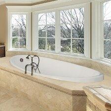 "Designer Carli 60"" x 36"" Soaking Bathtub"