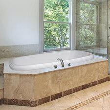 "Designer 60"" x 38"" Sylvia Air/Whirlpool Bathtub with Thermal System"
