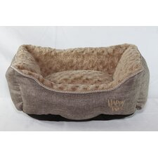Luxurious Faux Linen Dog Cuddler