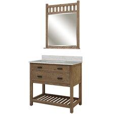 """Toby 37"""" Single Bathroom Vanity Set"""