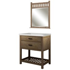 "Toby 31"" Single Bathroom Vanity Set with Integrated Sink"