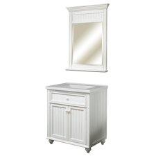 "Cottage Retreat 31"" Single Bathroom Vanity Set with Integrated Sink"