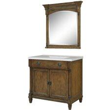 "Regency Place 37"" Single Bathroom Vanity Set with Integrated Sink"