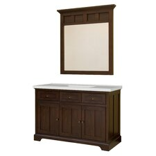 "Somerset 49"" Single Bathroom Vanity Set with Integrated Sink"