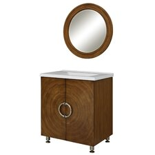 "Ovation 31"" Single Bathroom Vanity Set with Integrated Sink"