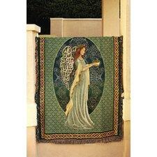 Irish Angel Tapestry Cotton Throw