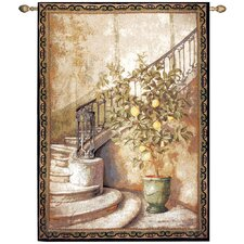 Lemon Stairwell Tapestry