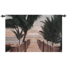 Palm Promenade Tapestry