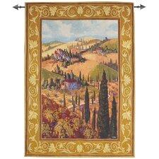 Tuscan Hillside Tapestry