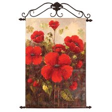 Glorious Poppies Original Painting on Canvas