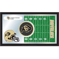 NCAA Football Mirror Framed Graphic Art