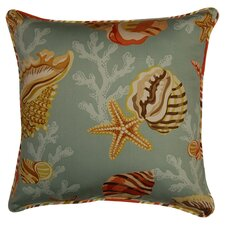 Coral Bay Cord Sea Cotton Throw Pillow (Set of 2)