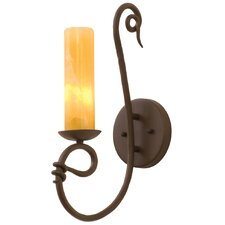 Vine 1 Light Wall Sconce with Shade