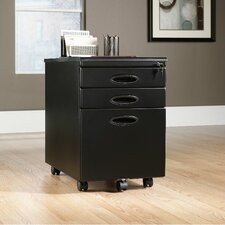 3-Drawer Mobile File Cabinet