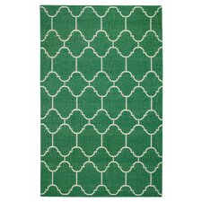 Serpentine Emerald Area Rug