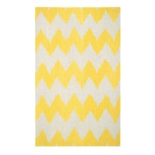 Insignia Leo Sun Yellow/Cream Area Rug