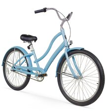 """Women's Firmstrong Alloy 26"""" Three Speed Beach Cruiser Bicycle"""