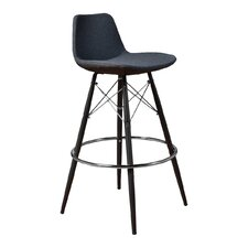 """Fun, Colorful 29"""" Bar Stool with Cushion (Set of 2)"""