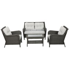 Savona 4 Piece Seating Group with Cushions