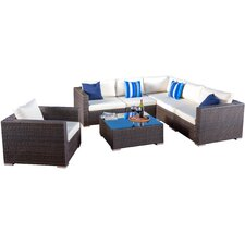 Venice 7 Piece Sectional Seating Group