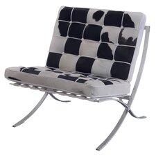 Pavilion Cowhide Club Chair