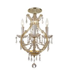 Maria Theresa 4 Light Flush Mount