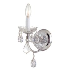 Imperial 1 Light Crystal Wall Sconce