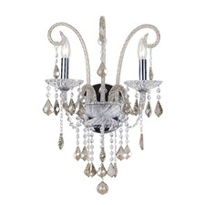 Simone 2 Light Crystal Wall Sconce