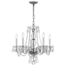5 Light Crystal Chandelier V