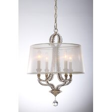 Garland 4 Light Crystal Mini Chandelier