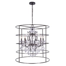 Filmore 5 Light Crystal Chandelier