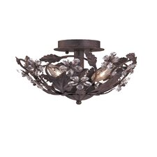 Abbie 3 Light Semi Flush Mount