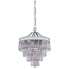 Chloe 3 Light Drum Foyer Pendant