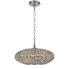 Solstice 5 Light Crystal Chandelier