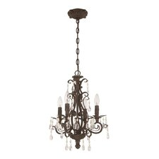 Englewood 4 Light Mini Chandelier