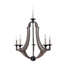 Winton 5 Light Candle Chandelier
