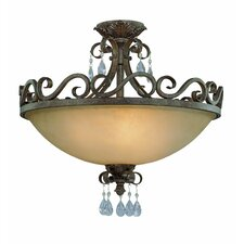 Englewood 4 Light Semi Flush Mount