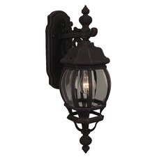 French style Pumpkin 1 Light Wall Sconce