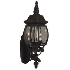 French Style 3 Light Sconce
