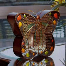 Figurine Fan Butterfly Table Fan