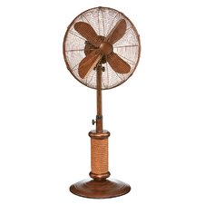"Nautica 18"" Oscillating Pedestal Fan"