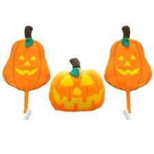 Halloween Vehicle 3 Piece Pumpkin Car Costume Decoration Set