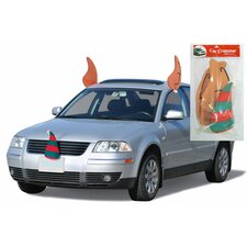 Elf Car Costume Kit Christmas Decoration