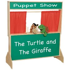 Deluxe Puppet Theater with Chalkboard
