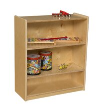 Small Bookcase with Adjustable Shelves