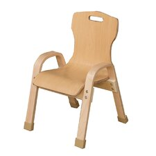"Healthy kids 10"" Wood Classroom Chair"