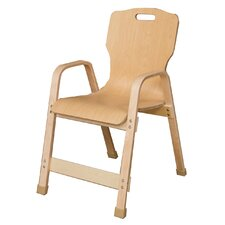 "Healthy Kids 16"" Wood Classroom Chair"